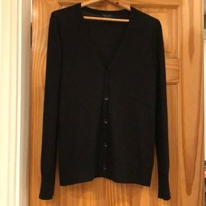 Black 100% Cashmere Men's Rag & Bone Cardigan